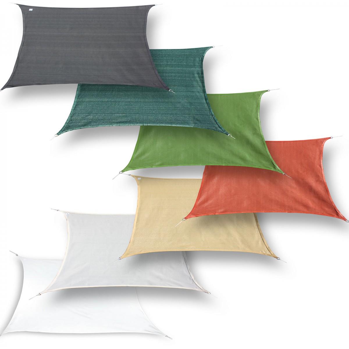 sonnensegel rechteck sonnenschutz schattensegel sonnendach. Black Bedroom Furniture Sets. Home Design Ideas